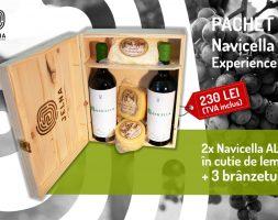Pachet Navicella alb Experience