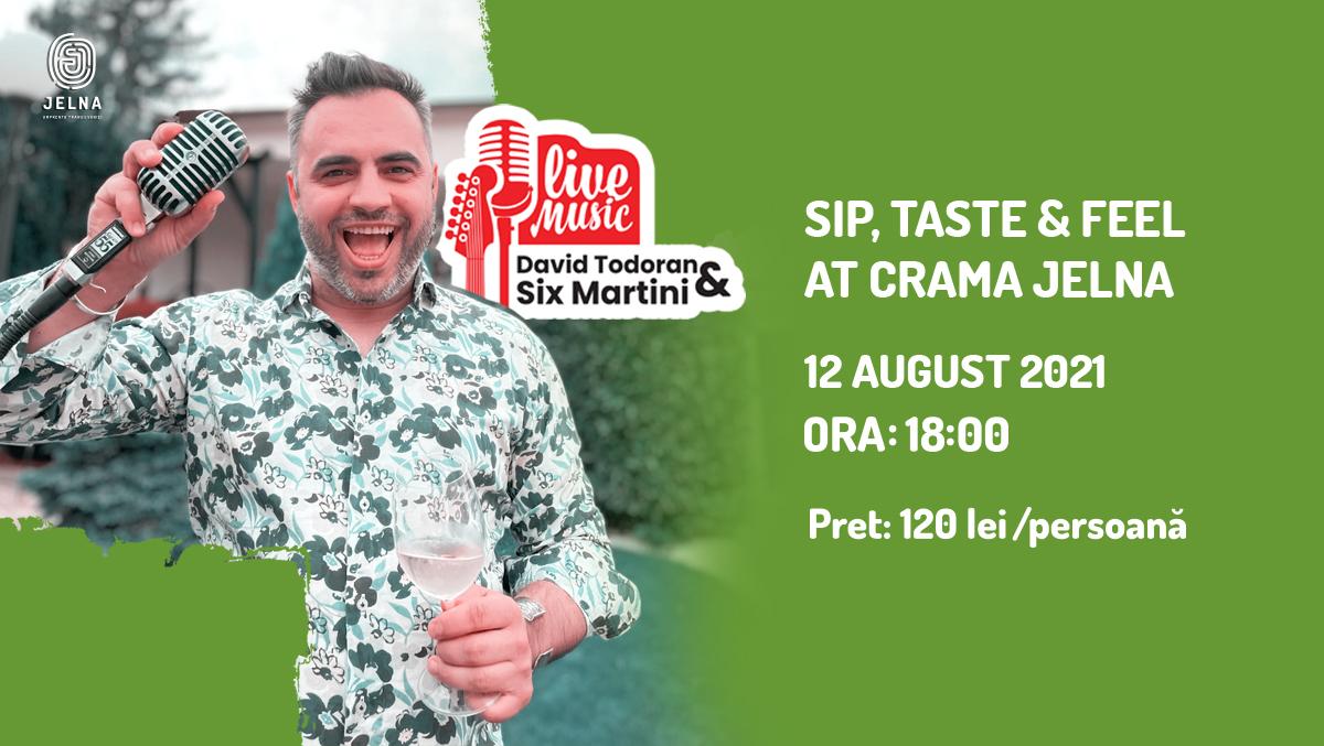 Sip, taste and feel @ Jelna | 12 august 2021